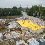 Neubau von 67 Wohnungen in Lünen.